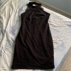 Black Bodycon Mini dress